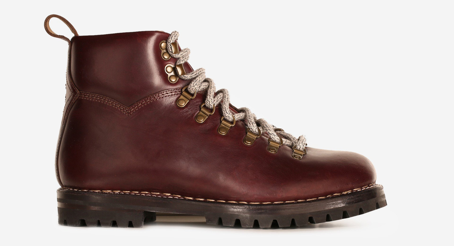 Lux Pull Up Calf Leather Hiker Boot