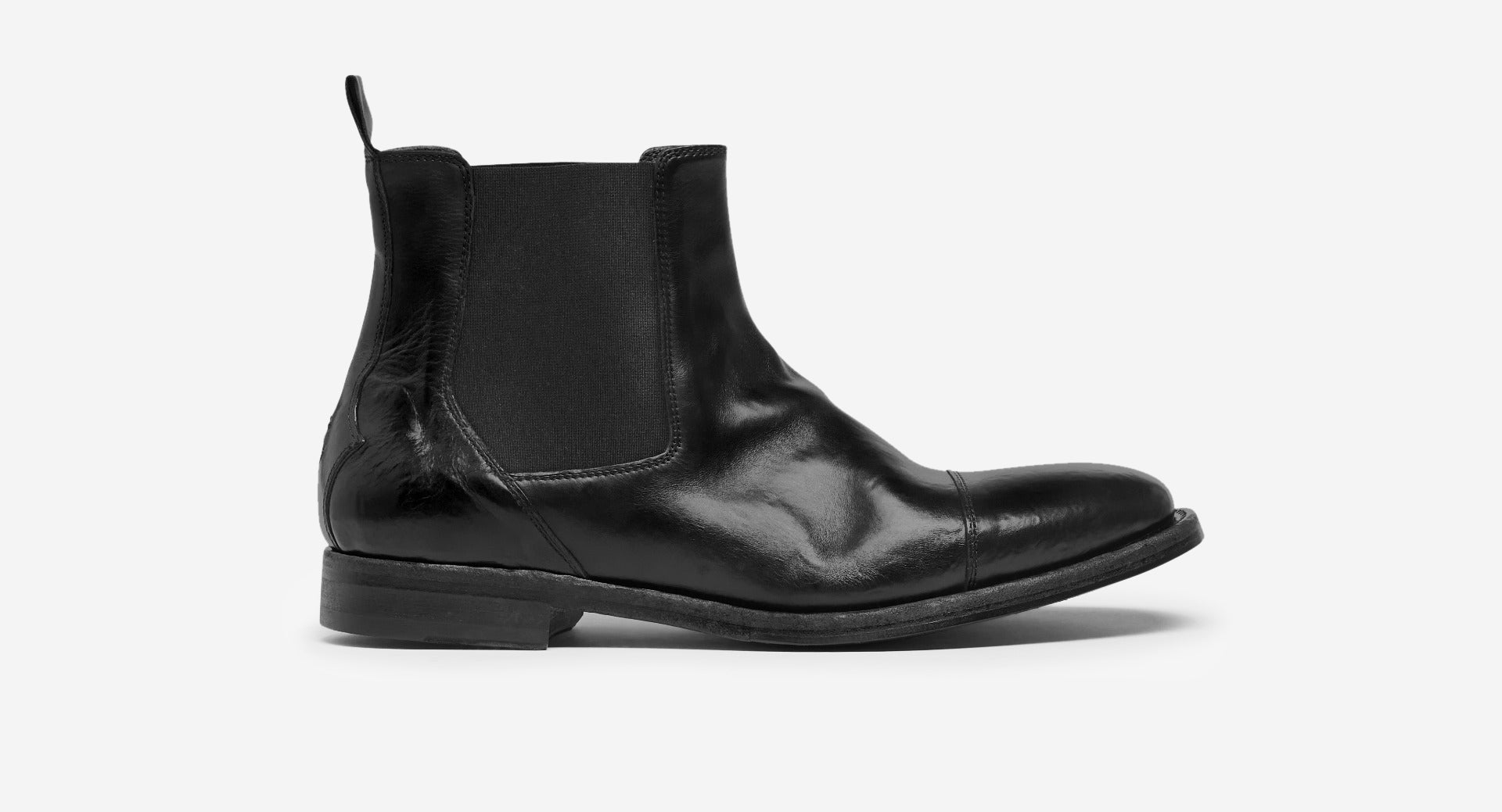 Calf Leather Chelsea Boots
