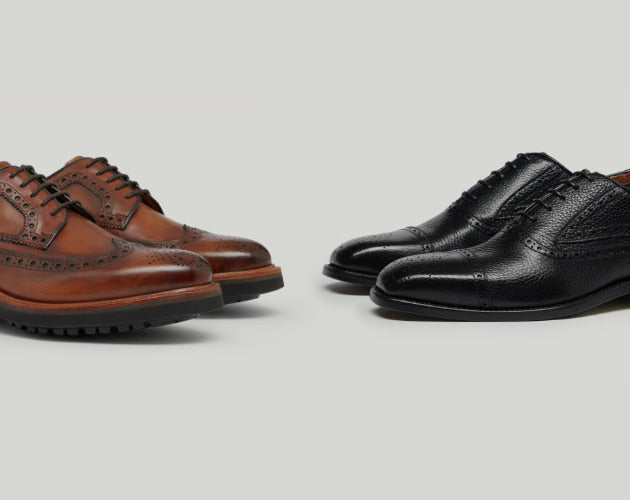 Oxfords vs. Derbies - What's the difference?