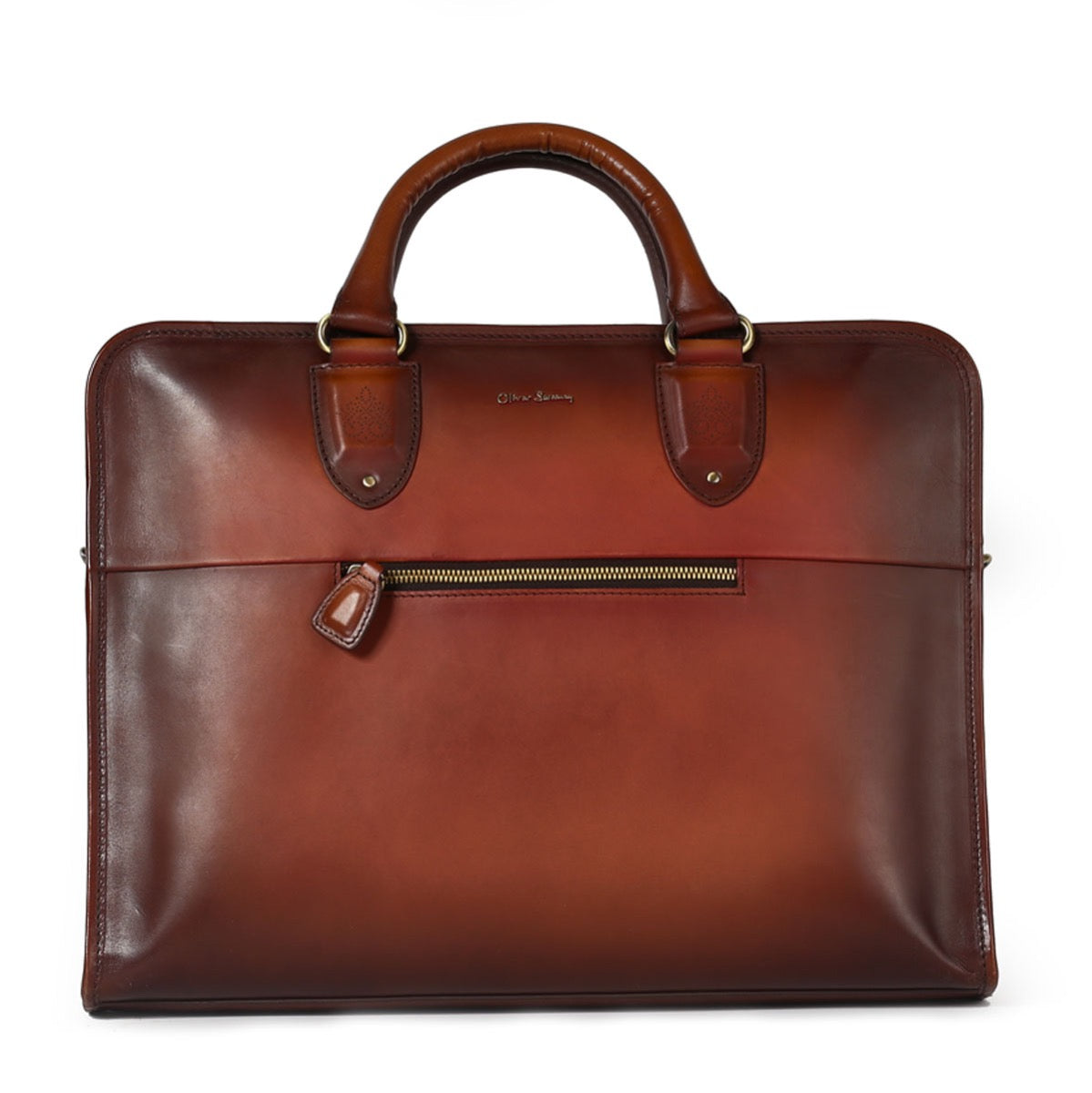 Hand Finished Leather Briefcase