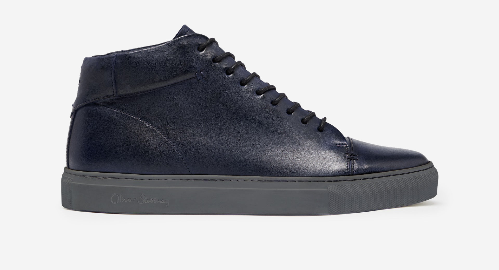 Dip Dyed Leather Trainer