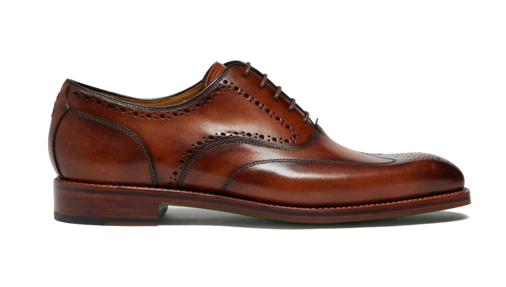 Discover the beauty of a hand finished leather Oxford Brogue