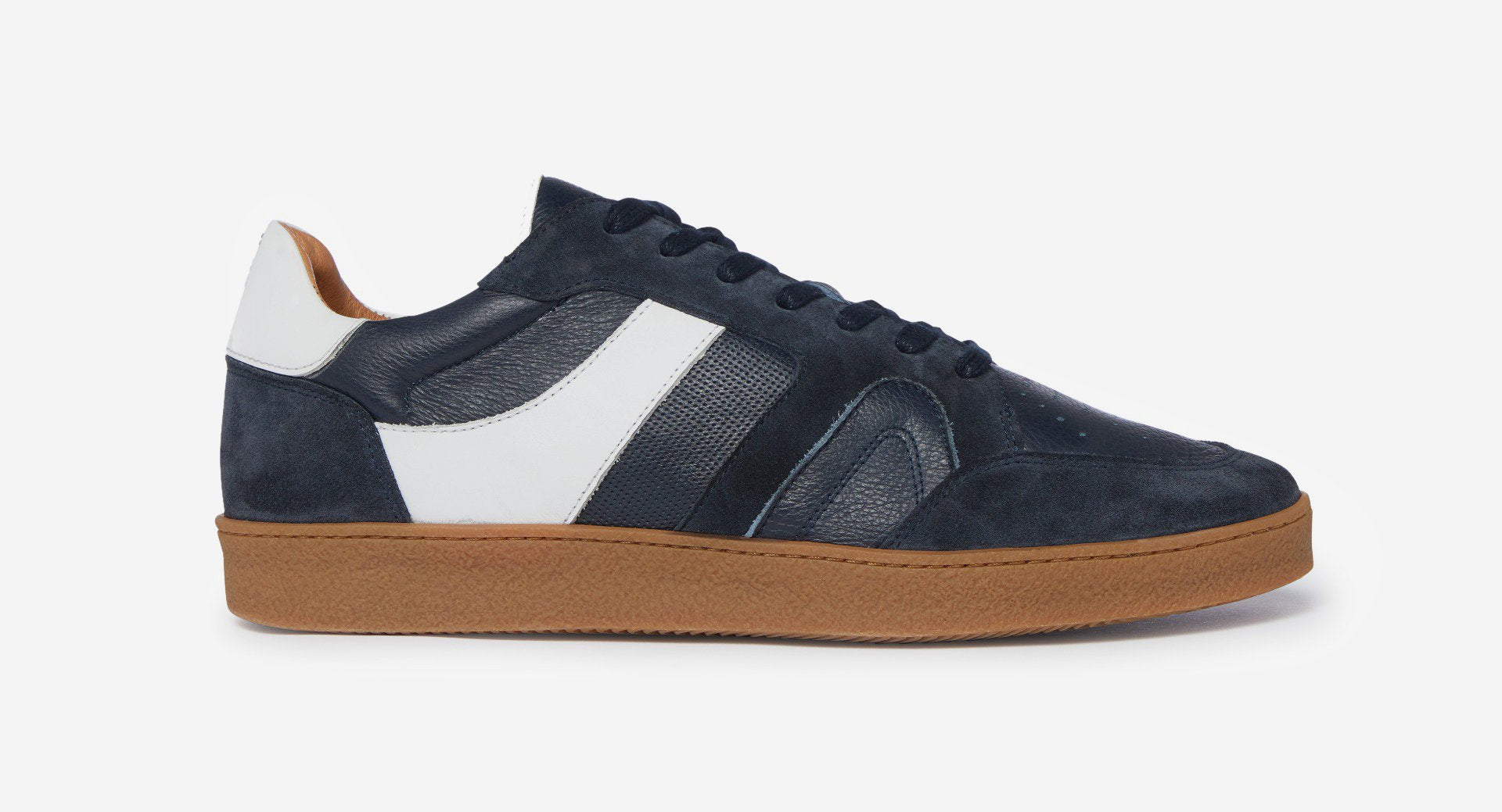 Calf Leather/Suede Trainers
