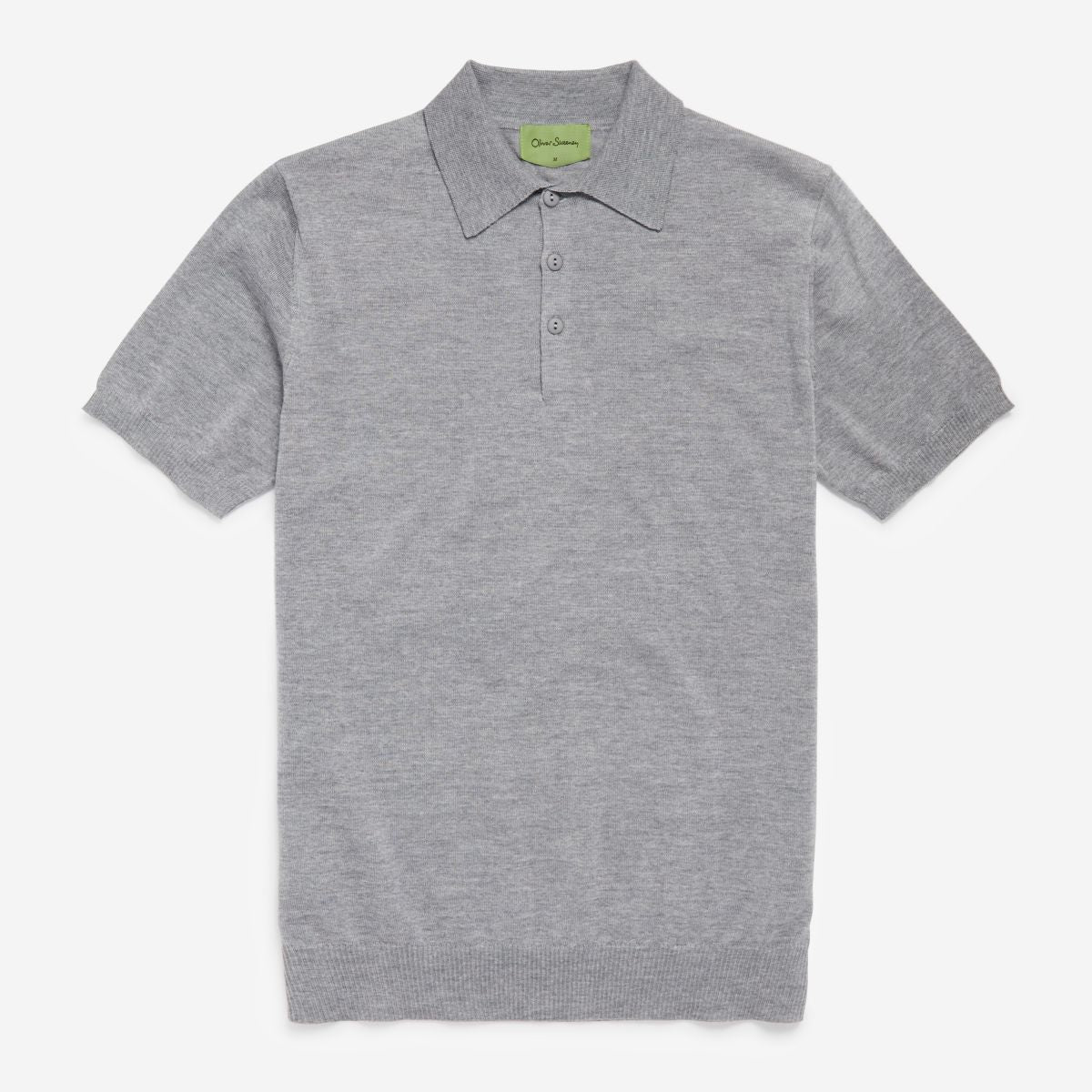 Merino Wool Knitted Polo