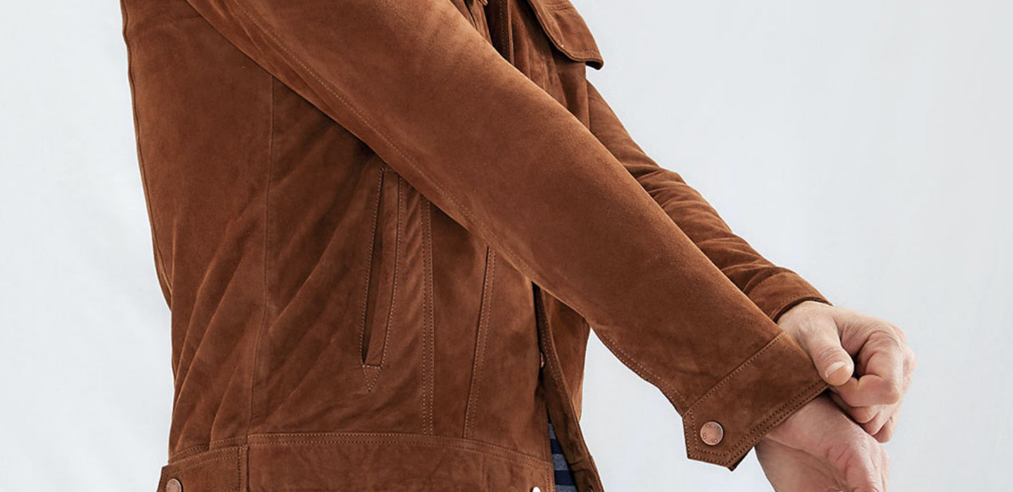 Caring For Your<br>Suede Jacket