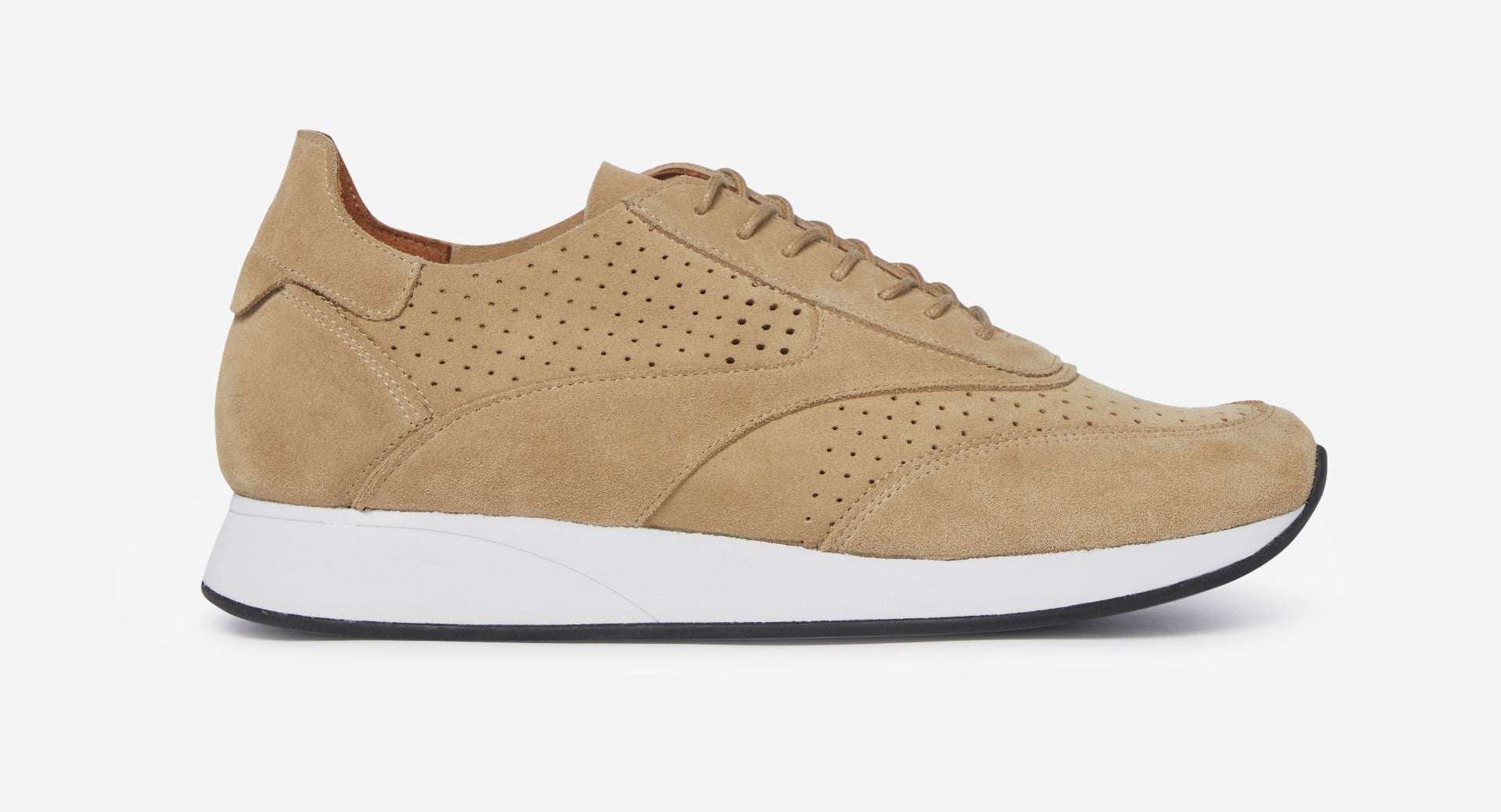 Calf Suede Trainers