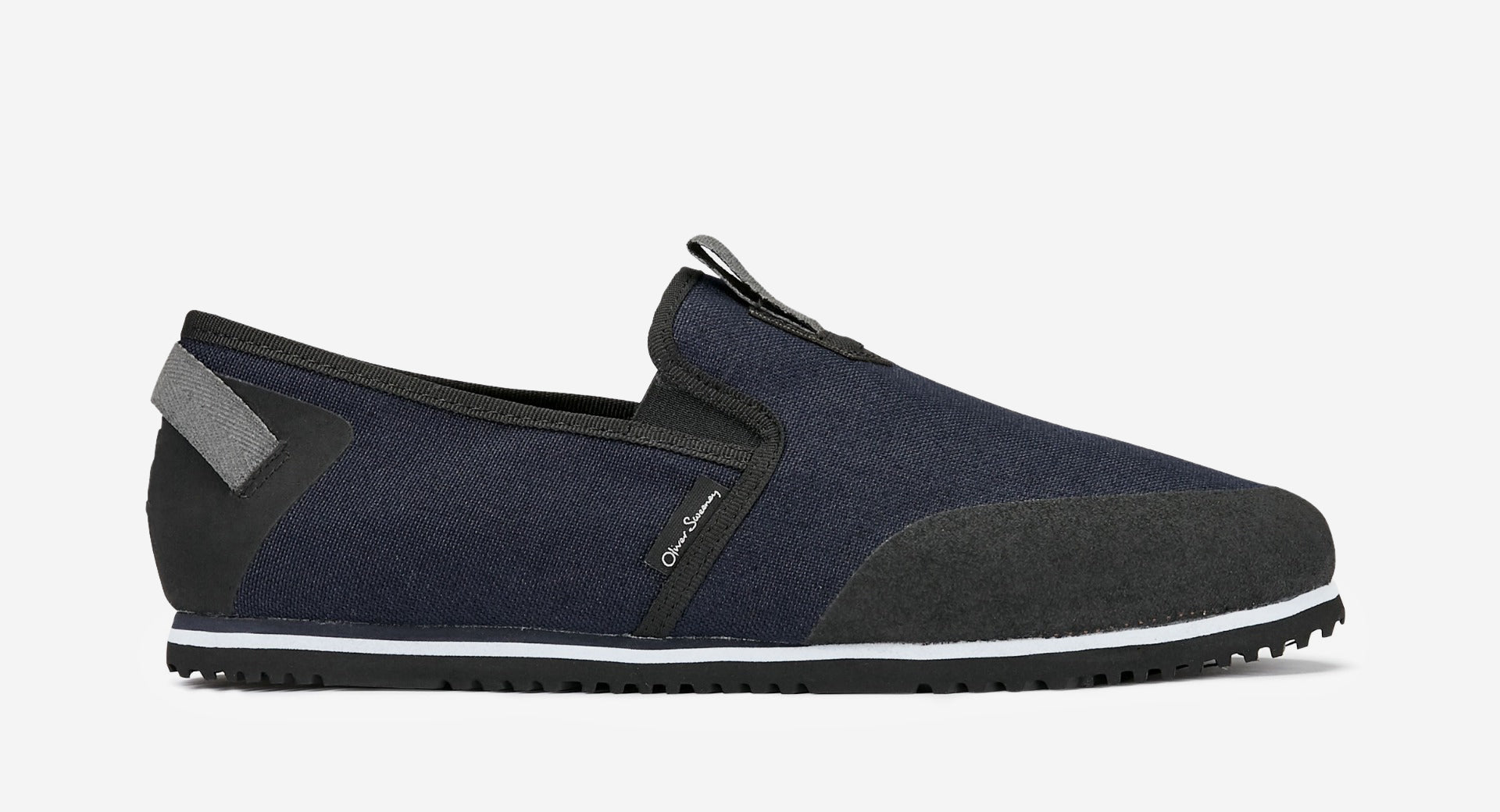 Navy Water-Resistant Canvas