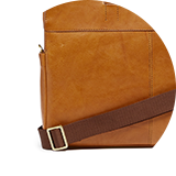 Twill strap with leather padding