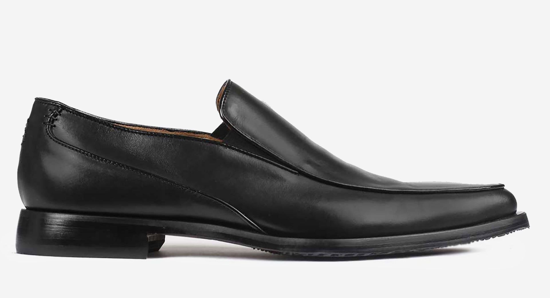 Formal Calf Leather Slip-on Shoes