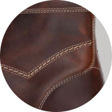 Pull-up calf leather upper