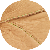 Calf leather lining