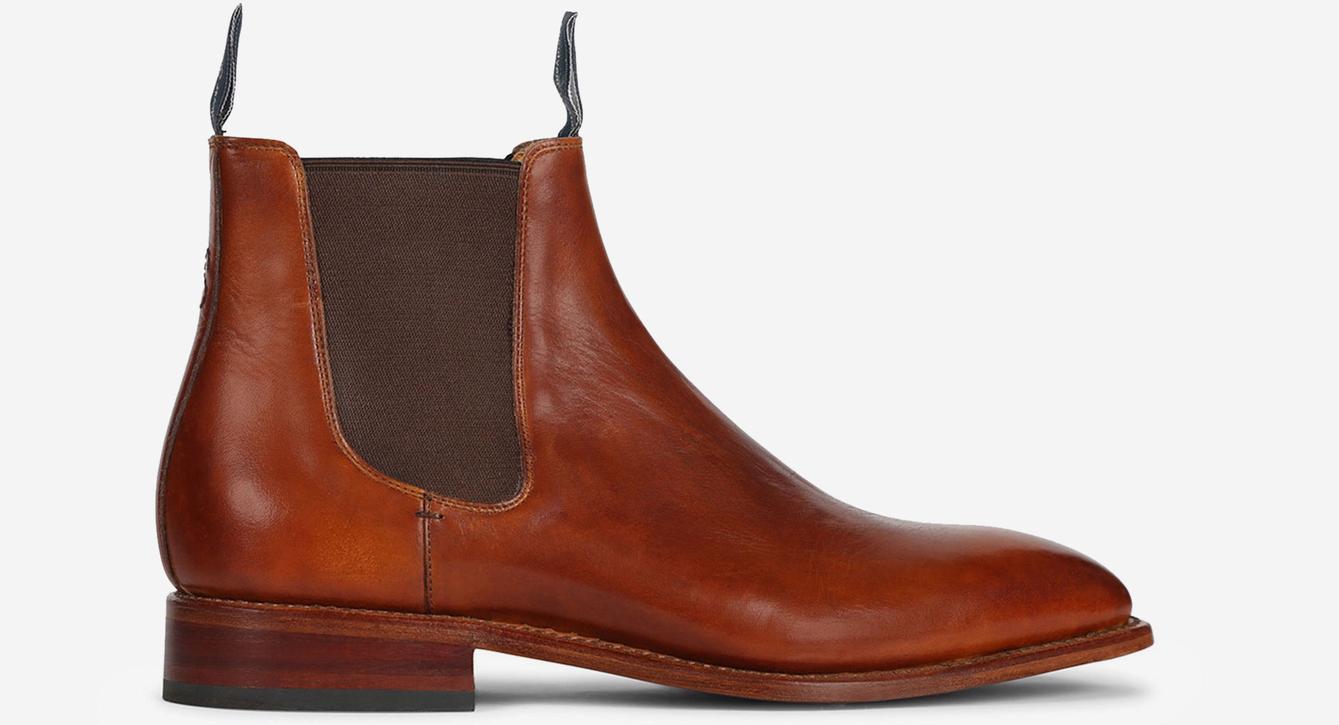 Hand Finished Leather Chelsea Boot