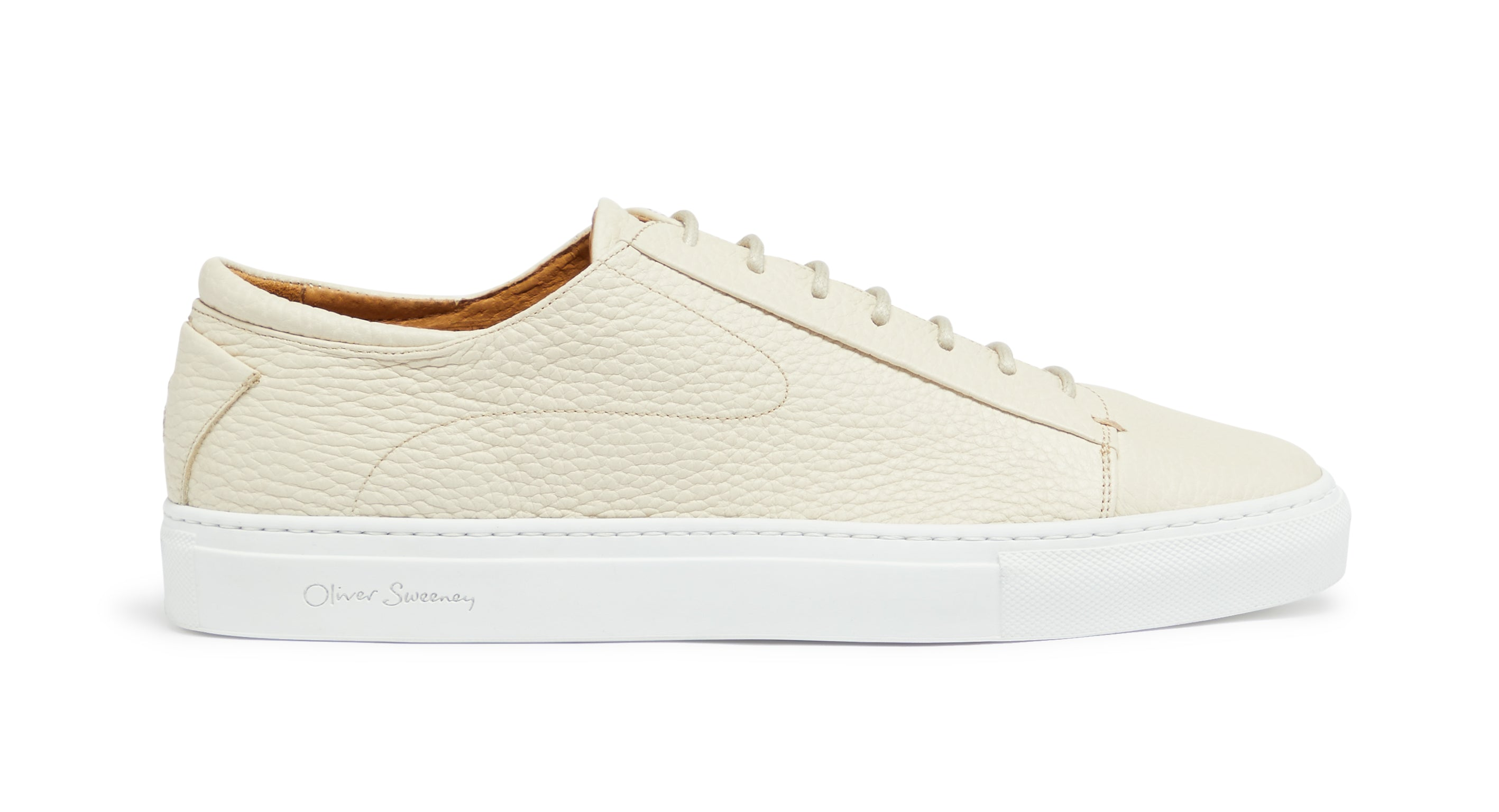 Calf Leather Cupsole Trainers