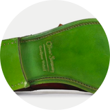 Green Leather sole