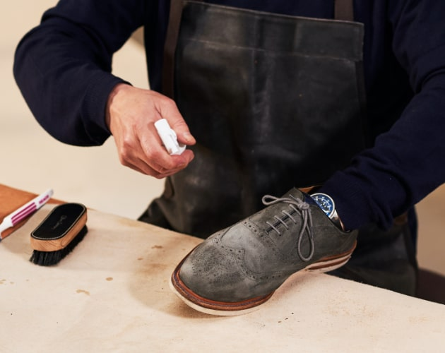 How to clean your suede shoes