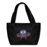 Hoot Insulated Lunch bag - black