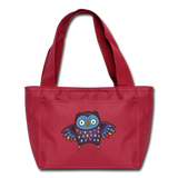 Hoot Insulated Lunch bag - red