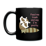 Trashy Mug - black