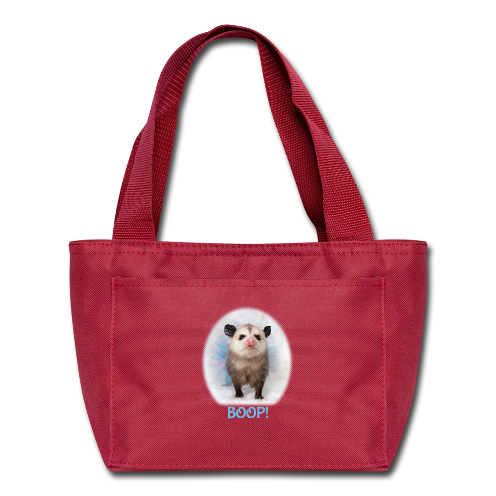 BOOP! Lunch Bag - red