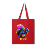 Oh Nuts!Tote Bag - red