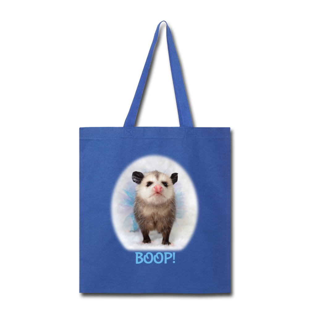 BOOP! Tote Bag - royal blue