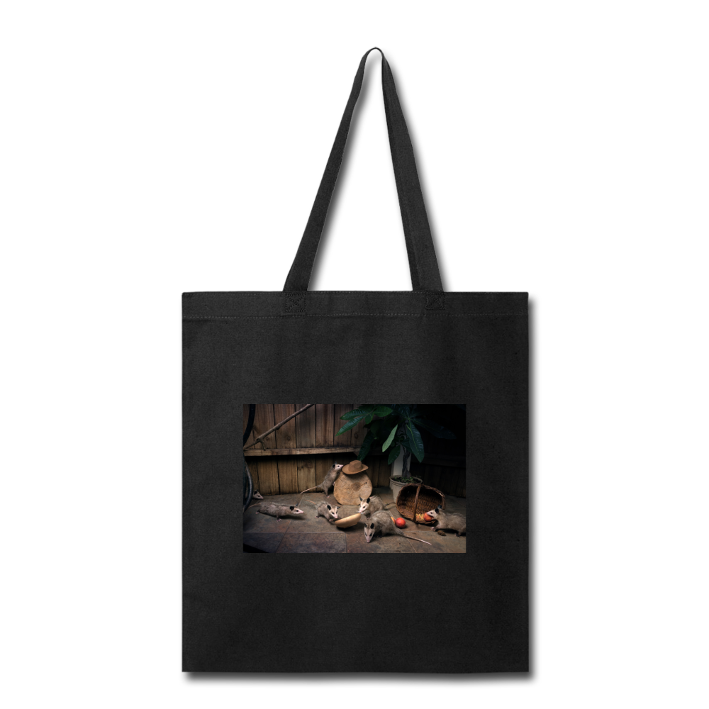 Troublemakers Tote Bag - black