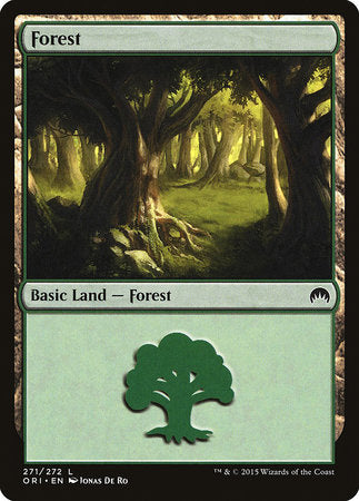 Forest (271) [Magic Origins] | Silver Goblin