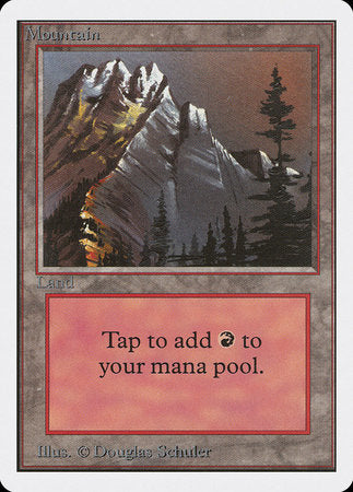 Mountain (A) [Unlimited Edition] | Silver Goblin