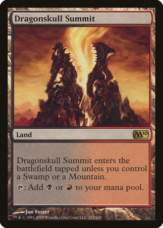 Dragonskull Summit [Magic 2010] | Silver Goblin