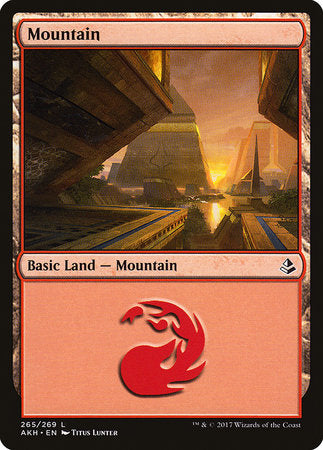 Mountain (265) [Amonkhet] | Silver Goblin