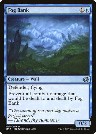 Fog Bank [Iconic Masters] | Silver Goblin