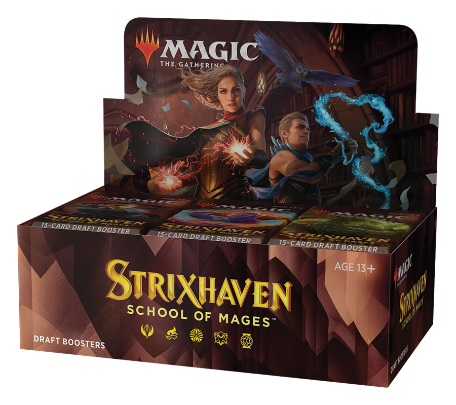 Strixhaven Draft Booster Box | Silver Goblin
