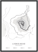 Afbeelding in Gallery-weergave laden, Lion's Head poster