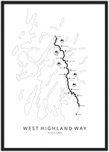 Afbeelding in Gallery-weergave laden, West Highland Way poster