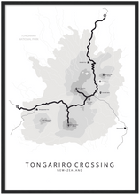 Afbeelding in Gallery-weergave laden, Tongariro Crossing poster
