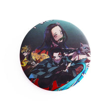 Load image into Gallery viewer, Anime Demon Slayer Kimetsu No Yaiba Kamado Tanjirou Cosplay Prop Pin Brooch Kamado Nezuko Badges Button Brooch Pins
