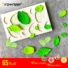 Load image into Gallery viewer, Tree Maple Leaf Mold Silicone Fondant Cake Decorating Tools Chocolate Baking Mould 3D Sugarcraft Resin Clay Homemade Bakeware