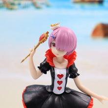 Load image into Gallery viewer, 21cm Re Zero Life In A Different World From Zero Anime Figure Toys Memory Snow Rem Ram Swimsuit Sakura Image PVC Action Figure Toys