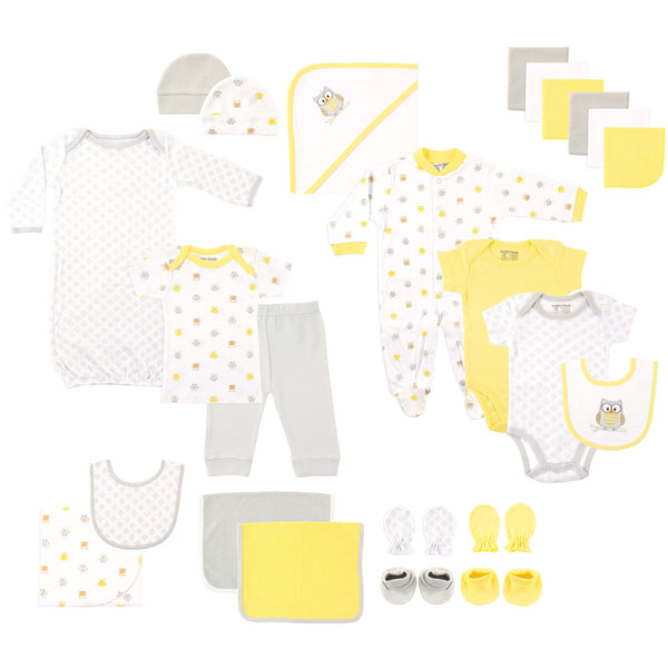 Luvable Friends Layette Gift Cube, Owl