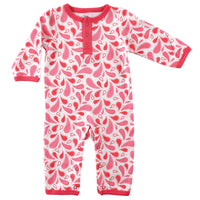 Yoga Sprout Cotton Coveralls, Paisley