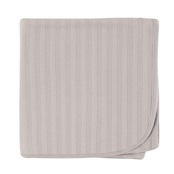 Touched by Nature Organic Cotton Swaddle, Receiving and Multi-purpose Blanket, Gray