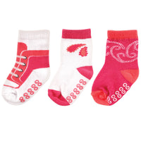 Yoga Sprout Socks, Paisley