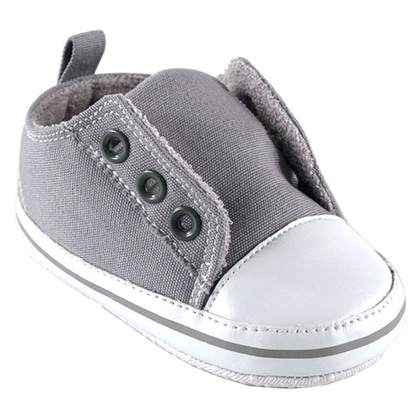 Luvable Friends Crib Shoes, Gray