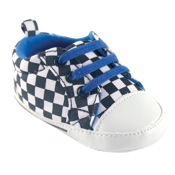 Luvable Friends Crib Shoes, Checkered