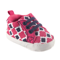 Yoga Sprout Sneakers, Pink Bird