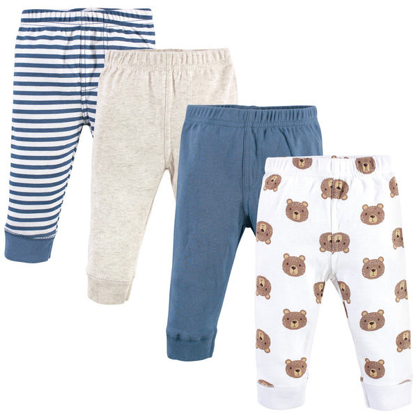 Hudson Baby Cotton Pants and Leggings, Little Bear