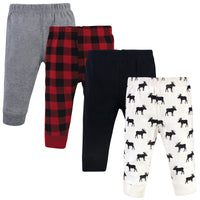 Hudson Baby Cotton Pants and Leggings, Moose