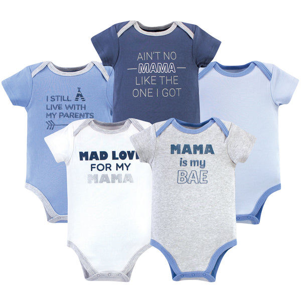 Luvable Friends Cotton Bodysuits, Mama