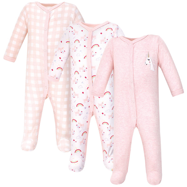 Luvable Friends Cotton Sleep and Play, Unicorn