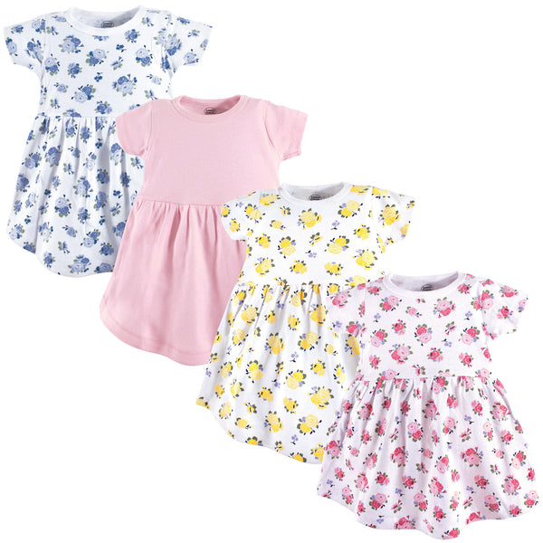 Luvable Friends Cotton Dress, Floral